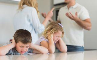 Правила развода при наличии несовершеннолетних детей