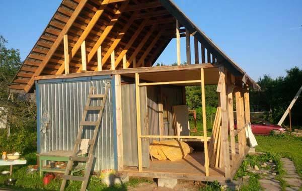 Можно ли строить дом на садовом участке 5 соток?