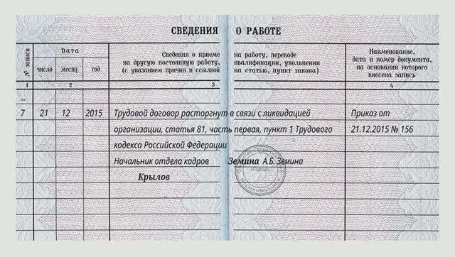 Увольнение директора при ликвидации ООО