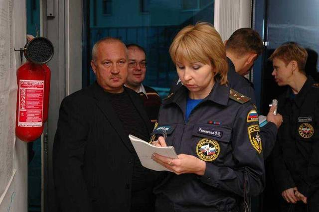 Акт комплексной проверки пожарной сигнализации - Пожарная безопасность