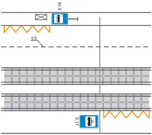 Штраф за стоянку на автобусной остановке